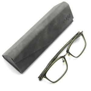 未使用 999.9 フォーナインズ メガネフレーム M-107 スクエア ウェリントン ワッパ ミックス 7603/グリーンカーキ メガネ 眼鏡  中古 18000434|classic