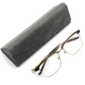 未使用 999.9 フォーナインズ メガネフレーム M-29 ブロウ ミックス 8201/チャコールグレー×ゴールド メガネ 眼鏡 サングラス  中古 18000440|classic