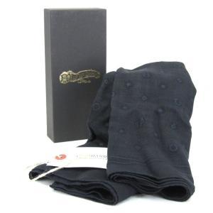未使用 GLADHAND グラッドハンド ストール GH-BANDANA STOLE バンダナ ブラック 黒 F メンズ 小物  中古 18000499|classic