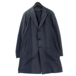 EIDOS エイドス 3B チェスターコート ジャケット  ネイビー 紺 50 メンズ  中古 20012360|classic