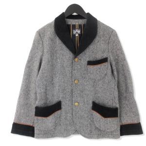 DRESS HIPPY ドレスヒッピー セットアップ SMOKING JACKET 3B スモーキング ジャケット & パンツ グレー S メンズ  中古 20012413|classic