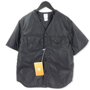 未使用 POST O'ALLS ポストオーバーオールズ C-POST DV2 HALF 中綿 ハーフ ジャケット  ブラック 黒 M タグ付き メンズ  中古 20012487|classic