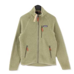 未使用 patagonia パタゴニア 19AW Men's Retro Pile Fleece Jacket 22801 レトロ パイル フリース ジャケット カーキ S メンズ  中古 20012488|classic