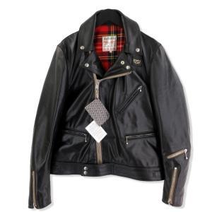 良品 Lewis Leathers ルイスレザー ダブルライダースジャケット サイクロン タイトフィット ホースハイド ブラック 黒 40 メンズ  中古 20012693|classic