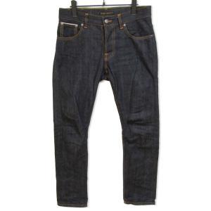 Nudie Jeans ヌーディージーンズ デニムパンツ GRIMTIM グリムティム スリムテーパード  インディゴ 30 メンズ  中古 27001919 classic