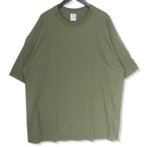 良品 PRO CLUB プロクラブ 半袖Tシャツ 無地 Tee オリーブ 3XL メンズ  中古 27002269 classic