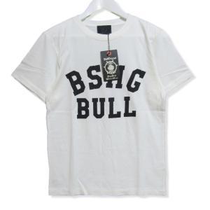 未使用 B.S.M.G BAY SIDE MOTOR GEAR ベイサイドモーターギア 半袖Tシャツ BSMG-18-SS-15 プリント ホワイト 白 S メンズ  中古 27003154 classic
