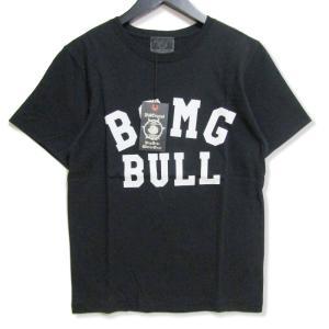 未使用 B.S.M.G BAY SIDE MOTOR GEAR ベイサイドモーターギア 半袖Tシャツ BSMG-18-SS-15 プリント ブラック 黒 S メンズ  中古 27003156 classic