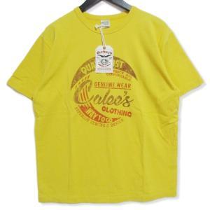 未使用 CALEE キャリー 半袖Tシャツ CL-19SS090 Washed Calee`s t-shirt イエロー L タグ付き メンズ  中古 27003182|classic