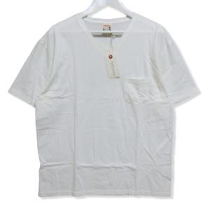 未使用 GLAD HAND グラッドハンド 半袖Tシャツ GLADHAND-06 無地 コットン Vネック パックシリーズ Tee ホワイト 白 XL メンズ  中古 27004149|classic