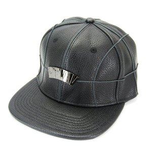 未使用 PMCV ピーエムシーヴィー キャップ BASKET BALL PLAYER PMCV-16-06 バスケットボール ブラック 黒  帽子 メンズ  中古 28002371 classic