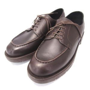 未使用 KLEMAN クレマン FRODA フローダ Uチップ DM87 フランス製 ビジネス カジュアル 革靴 MOKA 牛革 42  箱付シューズ  中古 45000372 classic