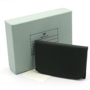 美品 POSTALCO ポスタルコ 小銭入れ COIN WALLET コインウォレット コインケース クロスグレイン エメラルドグリーン  レザー  中古 50009559 classic