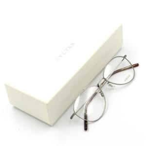 未使用 EYEVAN アイバン メガネフレーム Cougar アイヴァン クーガー ティアドロップ PEWTER メガネ 眼鏡 サングラス  中古 50009683|classic