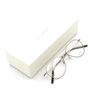 未使用 EYEVAN アイバン メガネフレーム Cougar アイヴァン クーガー ティアドロップ AG/アンティークゴールド 眼鏡 サングラス  中古 50009684|classic