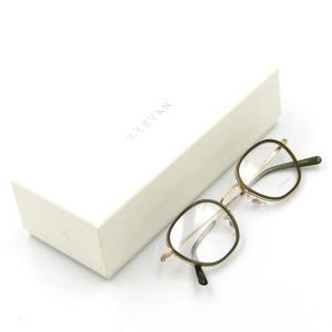 未使用 EYEVAN アイバン メガネフレーム Escenas アイヴァン ヘキサゴン ワッパ セル巻き BG メガネ 眼鏡 サングラス  中古 50009685|classic