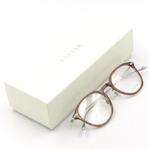 未使用 EYEVAN アイバン メガネフレーム Bryan アイヴァン ブライアン ボストン コンビ CB メガネ 眼鏡 サングラス  中古 50009697|classic