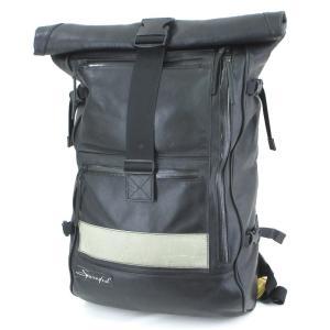 SPOONFUL スプーンフル バックパック SF-F1 ロールトップ リュック REDMOON レッドムーン ブラック 黒 キップレザー  バッグ 鞄  中古 60005818 classic