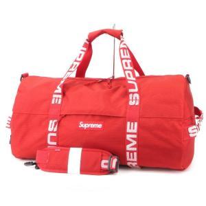 美品 Supreme シュプリーム Duffle Bag 19SS 2WAY ダッフルバッグ ボストンバッグ ショルダーバッグ レッド 赤  バッグ 鞄  中古 60005843|classic