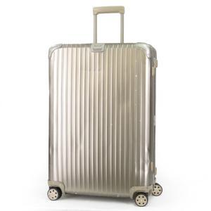 RIMOWA リモワ スーツケース TOPAS TITANIUM トパーズ チタニウム マルチホイール 98L 4輪 945.77 ゴールド 金  バッグ 鞄  中古 60005898 classic