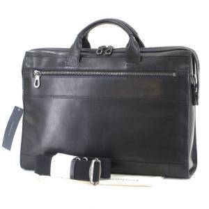未使用 HERGOPOCH エルゴポック ブリーフケース 2WAY MG-PBF ビジネスバッグ  Merge Briefcase ブラック 黒 バスクドレザー  バッグ 中古 60005934|classic