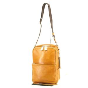 未使用 aniary アニアリ ショルダーバッグ 01-03009 Antique Leather Shoulder キャメル アンティークレザー  バッグ 鞄 中古 60005946|classic