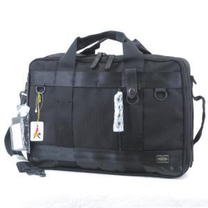 未使用 PORTER ポーター ブリーフケース HEAT ヒート 3WAY ビジネスバッグ バックパック 703-06980 ブラック 黒  バッグ 鞄 中古 60006017|classic