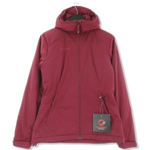 未使用 MAMMUT マムート Chamuera SO Thermo Hooded Jacket women 1010-24860 カムエラ サーモ バーガンディ S レディース  中古 75000309|classic