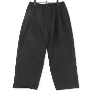 未使用 COOTIE クーティー Ventile 2 Tuck Easy Trousers CTE-19S117 ワイドシルエット ブラック 黒 XL タグ付き メンズ  中古 75000348|classic