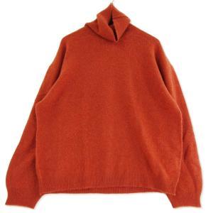 未使用 REMI RELIEF レミレリーフ カシミヤ ニット RN19253069 タートルネック セーター  オレンジ M タグ付き メンズ  中古 75000373|classic