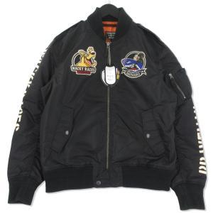 未使用 THE BRAVE MAN ブレイブマン フライトジャケット CSWB-902 ケンケン マオウ L-2B ブラック 黒 L タグ付き メンズ  中古 75000771|classic