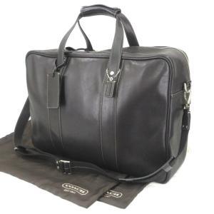 COACH コーチ ボストンバッグ 5J04 2WAY ショルダーバッグ ブリーフケース ブラック 黒  バッグ 鞄  中古 90000134|classic