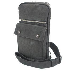 PORTER ポーター ワンショルダーバッグ 592-07531 SMOKY スモーキー ボディバッグ ブラック 黒  バッグ 鞄  中古 90000163|classic
