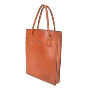 GOLD KID ゴールドキッド トートバッグ オールレザー  ブラウン 茶  バッグ 鞄  中古 90000347|classic