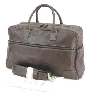 土屋鞄製造所 ツチヤカバン ボストンバッグ セッション キャリーオールボストン レザー ショルダーバッグ ブラウン 茶  バッグ 鞄  中古 90000386|classic