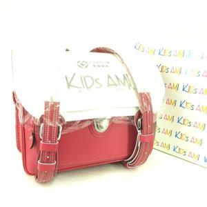 未使用 キッズアミ  ランドセル クラリーノ 横型 レインカバー ピンク  バッグ 鞄  中古 90000399|classic