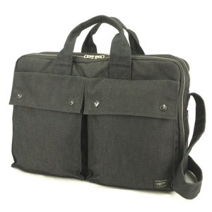 PORTER ポーター ブリーフケース スモーキー 592-06361 SMOKY  ビジネスバッグ ショルダーバッグ グレー  バッグ 鞄  中古 90000407|classic