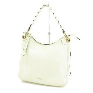 FURLA フルラ ハンドバッグ  ホワイト 白  バッグ 鞄  中古 90000747|classic