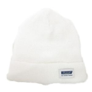 未使用 RADIALL ラディアル ニットキャップ サマー ニット帽 RAD-19SS-HAT005 コットン ホワイト 白  帽子 メンズ 中古 90000819|classic