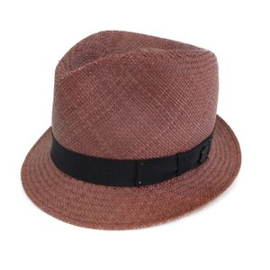 Bailey of hollywood ベイリー パナマハット 中折れ 麦わら帽子 ストロー ブラウン 茶  帽子 メンズ  中古 92000218 classic