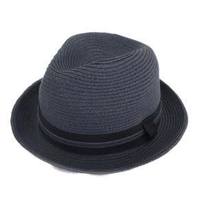 override オーバーライド ストローハット 中折れ フェドラ グレー 60 帽子 メンズ  中古 92000222|classic