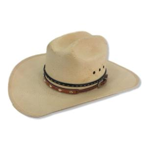 RESISTOL レジストル ストローハット ジョージストレイト ヴィンテージ ウエスタン テンガロン ナチュラル 7.125 帽子 メンズ  中古 92000223 classic