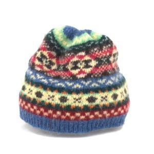 JAMIESON'S ジャミーソンズ ニットキャップ シェットランド フェアアイル ワッチキャップ ニット帽 マルチカラー  帽子 メンズ  中古 92000313|classic