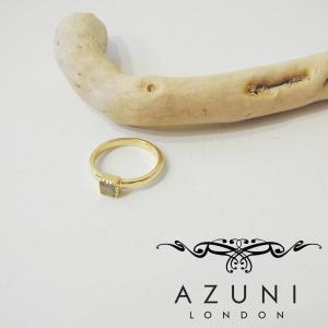 アズニ AZUNI LONDON グレームーンストーンリング 指輪 レディース 13号 14号 ゴールド 通販 おしゃれ 正規品 プレゼント 贈り物|classica