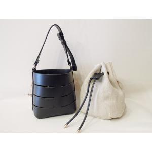 フランス 巾着型2WAYショルダーミニバッグ レディース 黒 ブラック ポシェット 小さめ 通販 おしゃれ 合皮 かばん 鞄 大人 きれいめ|classica|05