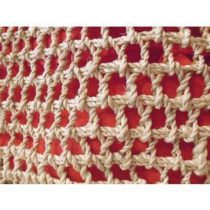 NESS CRAFT インナー巾着かごバッグ レディース カゴ 籠 レッド 赤 ナチュラル 通販 おしゃれ 春 夏 かばん 海 ビーチ 旅行 ミニ|classica|08