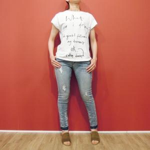 イタリア製 ロゴTシャツ レディース ホワイト 白 白T 半袖 フレンチスリーブ 9号 おしゃれ カジュアル 女性 婦人 シンプル 通販|classica