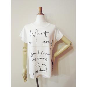 イタリア製 ロゴTシャツ レディース ホワイト 白 白T 半袖 フレンチスリーブ 9号 おしゃれ カジュアル 女性 婦人 シンプル 通販|classica|02