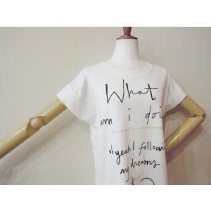 イタリア製 ロゴTシャツ レディース ホワイト 白 白T 半袖 フレンチスリーブ 9号 おしゃれ カジュアル 女性 婦人 シンプル 通販|classica|05