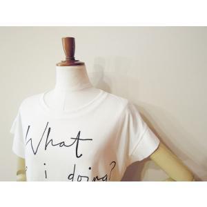 イタリア製 ロゴTシャツ レディース ホワイト 白 白T 半袖 フレンチスリーブ 9号 おしゃれ カジュアル 女性 婦人 シンプル 通販|classica|06